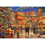 Bluebird-Puzzle-70057 Christmas at the Town Square