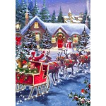 Bluebird-Puzzle-70073 Santa And Sleigh