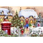 Bluebird-Puzzle-70076 Winter Cottage