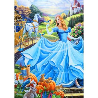 Bluebird-Puzzle-70085 Cinderella