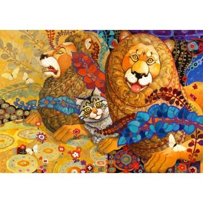 Bluebird-Puzzle-70091 Leonine Tapestry