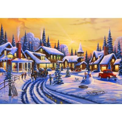 Bluebird-Puzzle-70100 A Christmas Story