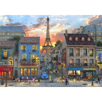 Bluebird-Puzzle-70111 Streets of Paris