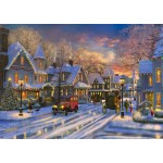 Bluebird-Puzzle-70113 Small Town Christmas