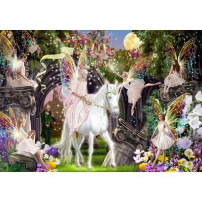 Bluebird-Puzzle-70114 Fairy Queen with Unicorn