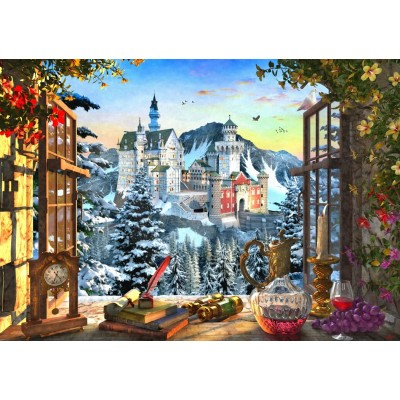 Bluebird-Puzzle-70122 Mountain Castle