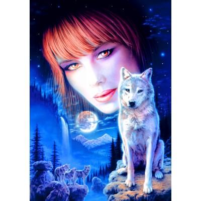 Bluebird-Puzzle-70133 Wolf Girl