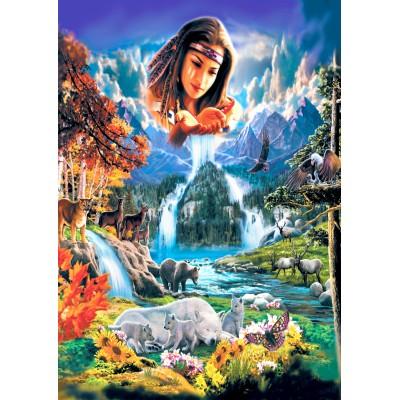 Bluebird-Puzzle-70135 Four Seasons
