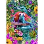 Bluebird-Puzzle-70138 Parrot Paradise