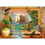 Bluebird-Puzzle-70140 Noah's Ark Framed