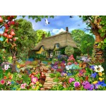 Bluebird-Puzzle-70141 English Cottage Garden