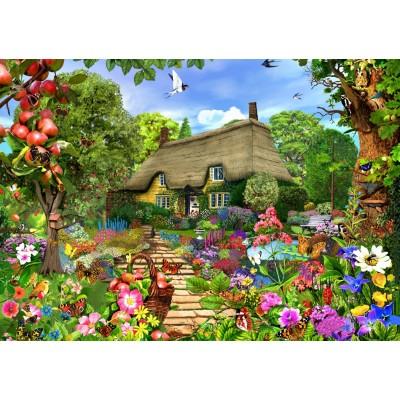 Bluebird-Puzzle-70141 English Cottage Garden