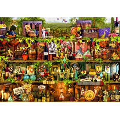 Bluebird-Puzzle-70142 Wine Shelf