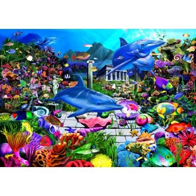 Bluebird-Puzzle-70145 Lost Undersea World
