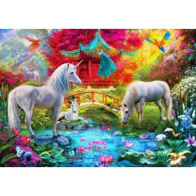 Bluebird-Puzzle-70148 Oriental Unicorns