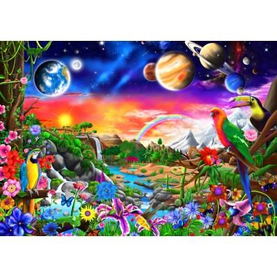 Bluebird-Puzzle-70151 Cosmic Paradise
