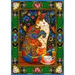 Bluebird-Puzzle-70152 Painted Cat