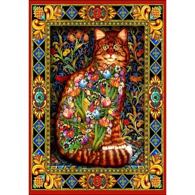 Bluebird-Puzzle-70153 Tapestry Cat