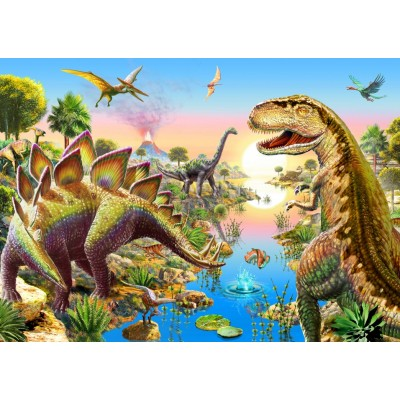 Bluebird-Puzzle-70157 Jurassic River