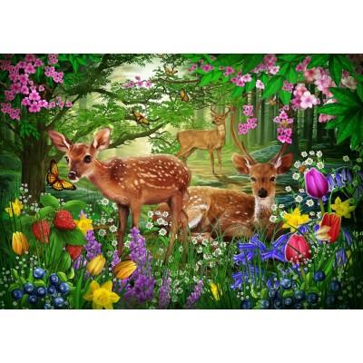 Bluebird-Puzzle-70166 Spirit of Spring