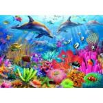 Bluebird-Puzzle-70169 Dolphin Coral Reef