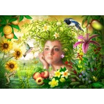 Bluebird-Puzzle-70179 Spirit of Summer