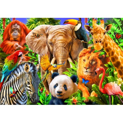 Bluebird-Puzzle-70187 Animals for kids