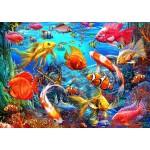Bluebird-Puzzle-70192 Tropical Fish