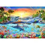 Bluebird-Puzzle-70194 Tropical Bay