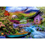 Bluebird-Puzzle-70210 Heaven on Earth in the Mountains