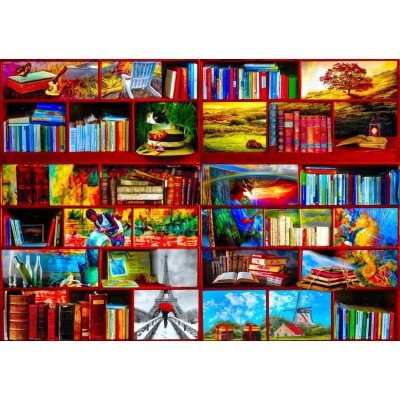 Bluebird-Puzzle-70212 The Library The Travel Section