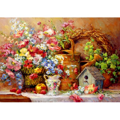 Bluebird-Puzzle-70218 Garden Medley