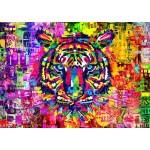 Bluebird-Puzzle-70221 Wonderful Tiger