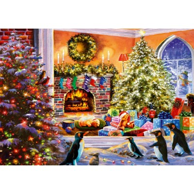 Bluebird-Puzzle-70228-P A Magical View to Christmas