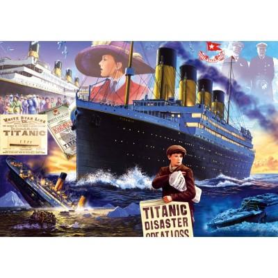 Bluebird-Puzzle-70231-P Titanic