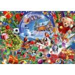 Bluebird-Puzzle-70236-P Christmas Globe