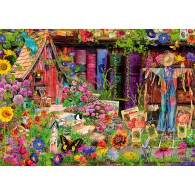 Bluebird-Puzzle-70238-P The Scarecrow's Garden