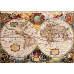Bluebird-Puzzle-70246-P Antique World Map