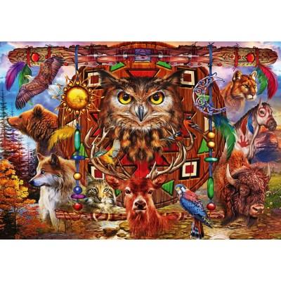 Bluebird-Puzzle-70247-P Animal Totem