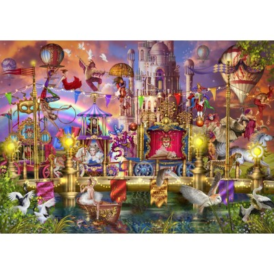 Bluebird-Puzzle-70251-P Magic Circus Parade