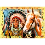 Bluebird-Puzzle-70284 Indian Chief
