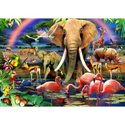 Bluebird-Puzzle-70286 African Savannah