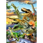 Bluebird-Puzzle-70287 Dino Sunset
