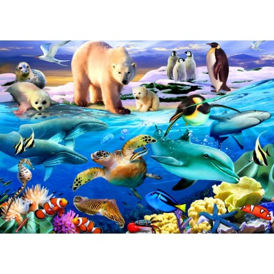 Bluebird-Puzzle-70288 Oceans of Life