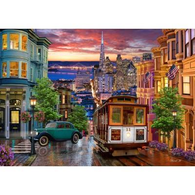 Bluebird-Puzzle-70293 San Francisco Trolley