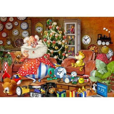 Bluebird-Puzzle-70295 Christmas Time!