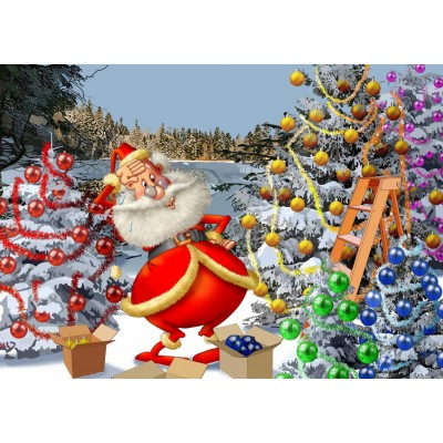 Bluebird-Puzzle-70296 Christmas Countdown!