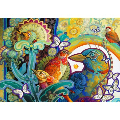Bluebird-Puzzle-70297 Basket of Paradise