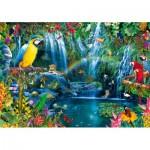 Bluebird-Puzzle-70298-P Parrot Tropics