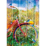 Bluebird-Puzzle-70300-P Bluebirds on a Bicycle